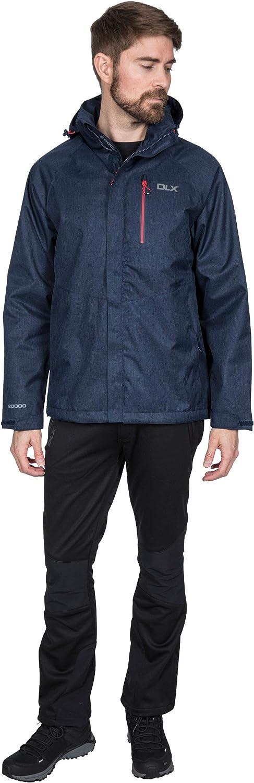 Trespass Men's Dupree Waterproof Jacket with Removable Hood