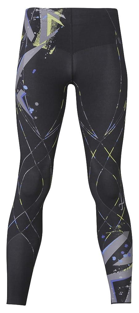 降ろす北形式[シーダブリューエックス] スポーツタイツ ジェネレーターモデル レボリューションタイプ (ロング丈)  吸汗速乾 UVカット メンズ HZO659