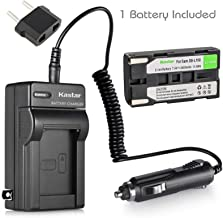 Kastar SB-L160 Battery and Charger for Samsung SC-L901 SC-L903 SC-L906 SC-L907 SC-W61 SC-W62 SC-W71 SC-W73 SC-W80 SC-W87 SC-W97 VM-A110 VM-A2300 VM-A300 VM-A320 VM-A3400T VM-A350 VM-A400 Camcorder