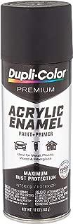 Dupli-Color Flat Black Premium Acrylic Enamel Spray Paint (Pae102, 12 Oz), 12. Fluid_Ounces