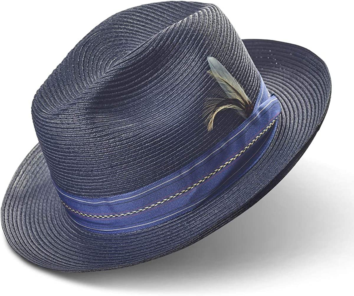 Penner's Pinzano Milan Pinched Straw Hat