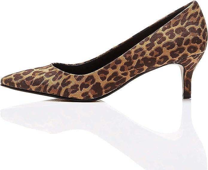 TALLA 40 EU. Marca Amazon - find. Mujer Zapatos de tacón con punta cerrada
