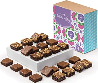 Fairytale Brownies Mother's Day SUGAR-FREE Magic Morsel 24 Individually Wrapped Gourmet Chocolate Food Gift Basket - 1.5 I...