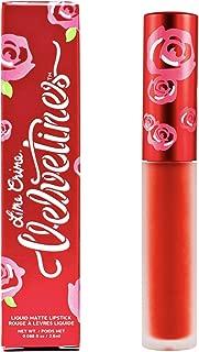 Lime Crime Velvetines Liquid Matte Lipstick, New Americana - Flame Red - Long-Lasting Velvety Matte Lipstick - Won't Bleed or Transfer - Vegan