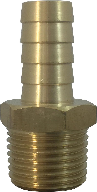 MI MADOL IMPORTS LLC Brass Ranking TOP11 Hose KFPS0808 Barb Classic Line Fuel