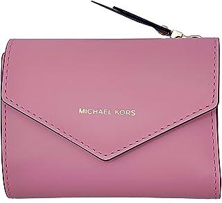 محفظة مايكل كورس، جلد قرنفلي - 32T8TZLD5L