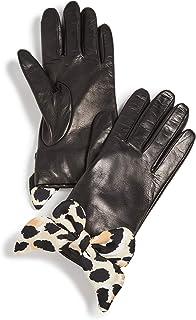 Lele Sadoughi Women's Button Hole Gloves with Silk Bows
