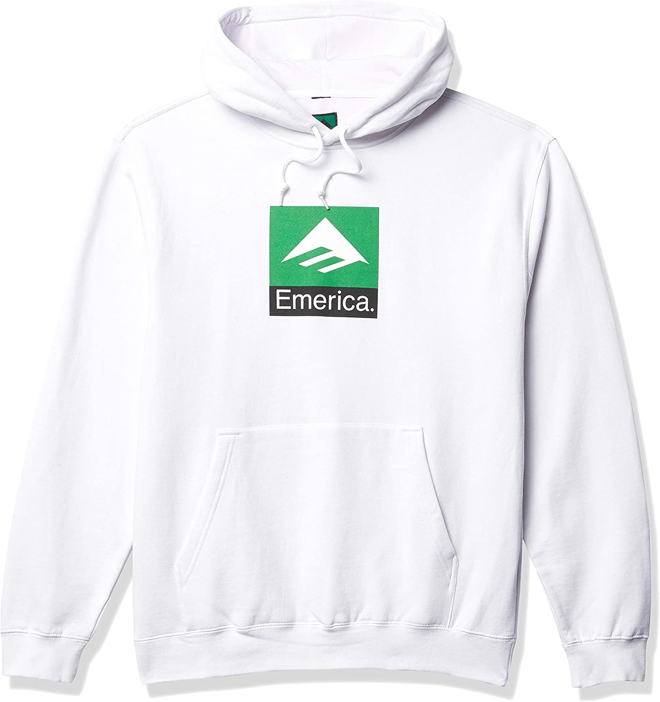 Emerica Mens Pure Combo Hoodie Hooded Sweatshirt