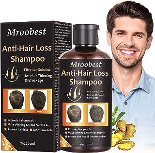 Hair Loss Shampoo Champú Anticaida Anti Pérdida De Cabello esencia de hierbas naturales promueve más cabello ticker p...