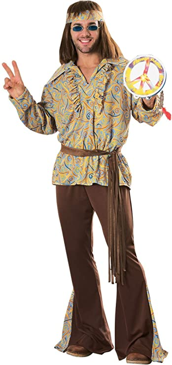 70s Costumes: Disco Costumes, Hippie Outfits Mod Marvin Adult Costume  AT vintagedancer.com