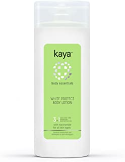 Kaya Clinic White Protect Body Lotion, with Niacinamide to give brighter, hydrated, even toned skin, for all skin types 200ml