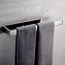 Lolypot Handdoekhouder zonder boren, handdoekhouder roestvrij staal zelfklevend, badkamerhanddoekenrek 35 cm, handdoekstan...