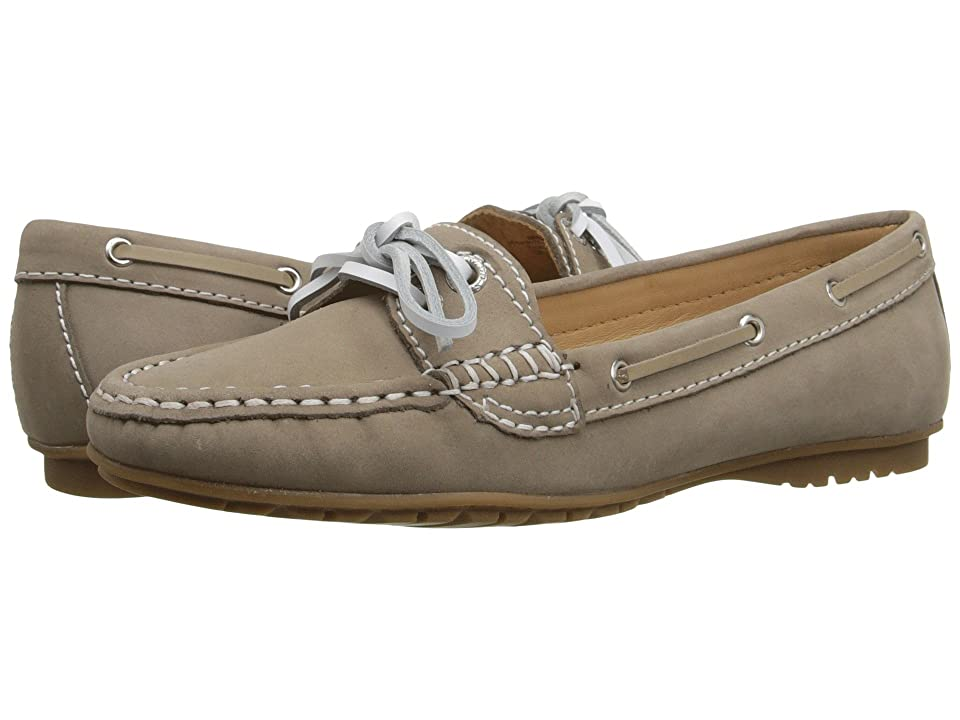 Sebago Meriden Two Eye (Dark Taupe Nubuck) Women