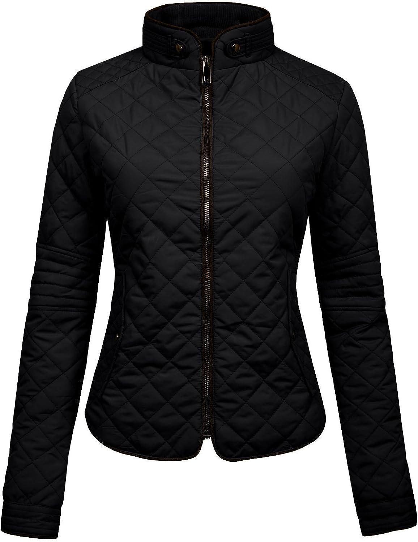 NE PEOPLE Womens Lightweight Quilted Zip Jacket (S-3XL)