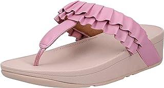 FITFLOP, 11996245031 Petal Ruffle Toe-Thongs Womens Thong SANDAL