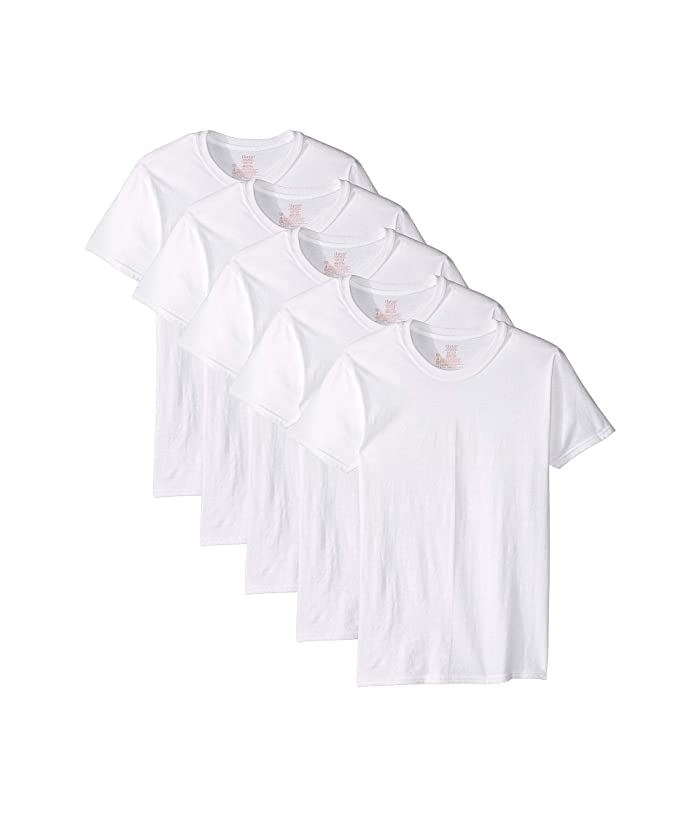 Core Cotton Crew Neck Tee Pack White