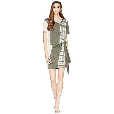 Young Fabulous & Broke Pamella Dress (Green Olive Radial) Women