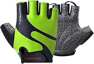 Tanluhu Cycling Gloves/Bike Gloves Half Finger Road...