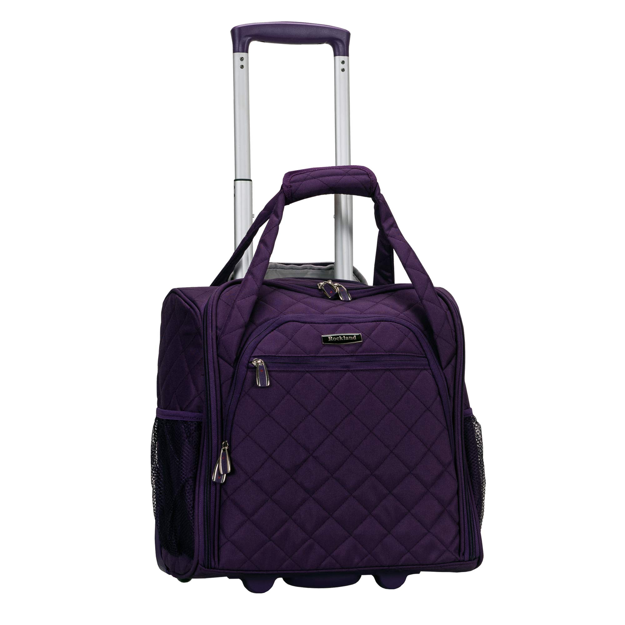 Rockland Wheeled Underseat Carry Purple