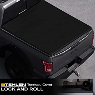 Stehlen 714937189027 Lock And Roll Up Tonneau Cover - Black For 95-04 Toyota Tacoma / 89-94 Toyota Pickup Regular (Standard) / Access (Extended) Cab 6 Feet (72
