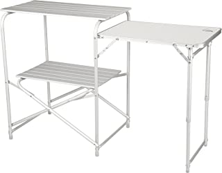 Alpine Mountain Gear Roll Top Kitchen Table, Grey