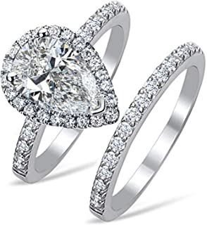 Best pear drop ring Reviews