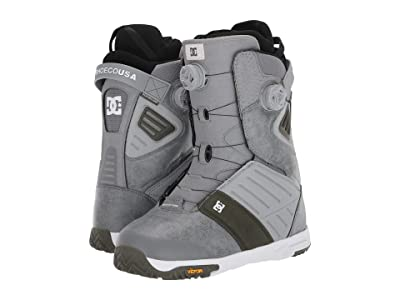 DC Judge Dual BOA(r) Snowboard Boots (Grey) Men