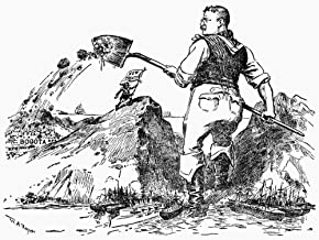 Panama Canal Cartoon NThe News Reaches Bogota Cartoon 1903 By WA Rogers From The New York Herald Showing President Theodore Roosevelt Rudely Presenting Colombia With The Fait Accompli Of His Panama Ca