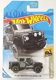 Hot Wheels 2019 Baja Blazers '15 Land Rover Defender Double Cab 14/250, Gray