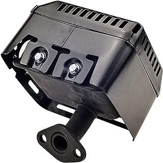 Antanker Muffler Exhaust Assembly Replaces Honda Gx160 5.5HP Gx200 6.5HP with Head Shield Manifold
