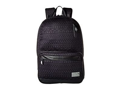 HEX Global Signal Backpack (Black/Grey/Global Stripe) Backpack Bags