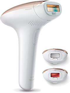 Philips Lumea Advanced IPL Hair Removal Device for Body, Face and Bikini with Extra Long Cord, White/Pink, SC1999/00
