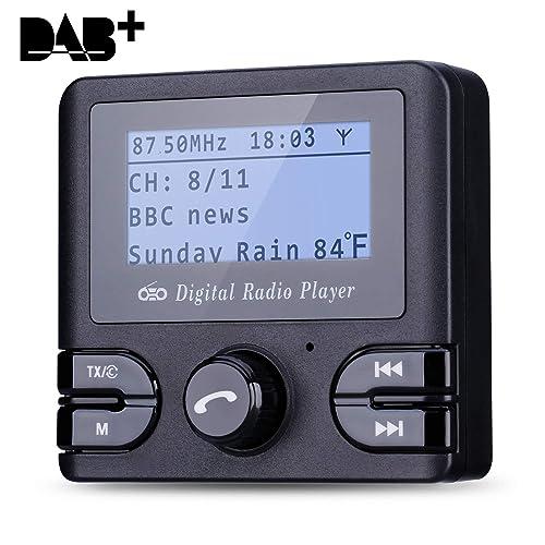 Excelvan Dab/Dab+ Radio Digital Coche, 2.4