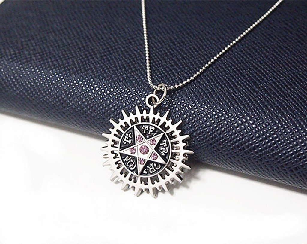 Anime Black Butler Logo Necklace New Metal  pendant Necklace Boys Girls Gifts