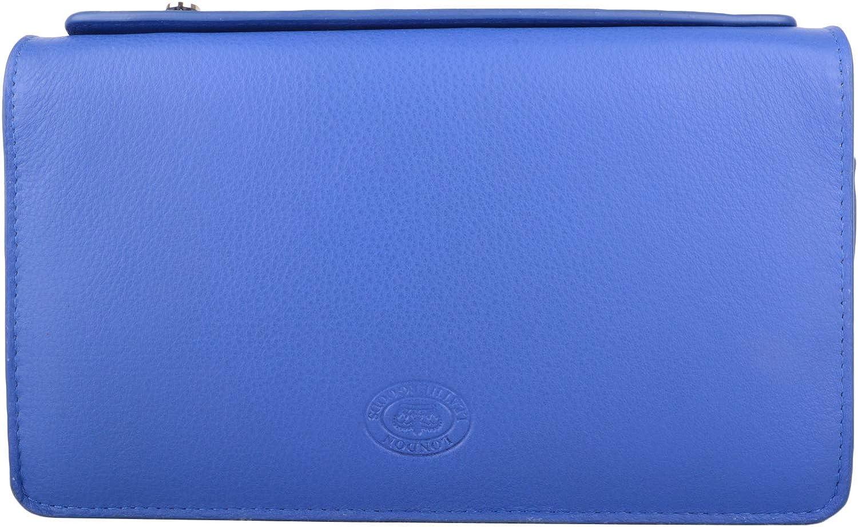 Womens Large Soft Leather RFID Clutch Bag/Purse