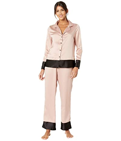 BLUEBELLA Drew Shirt and Trousers Set (Rose Dust/Black) Women