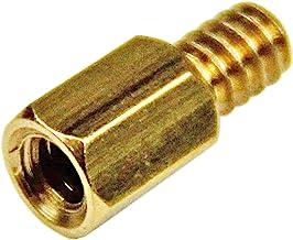 StarTech.com 6-32 Brass Motherboard Standoffs for ATX Computer Case - 15 Pack (STANDOFF632)