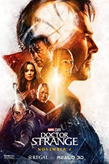 Posters USA Marvel Doctor Strange Movie Poster GLOSSY FINISH - MOV386 (24