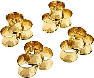 Easy-topbuy 6 St/ück Serviettenringe Ros/égold Silber Gold Serviettenring In Kronenform F/ür Zuhause Hochzeit Festival Wiederverwendbarer Serviettenhalter