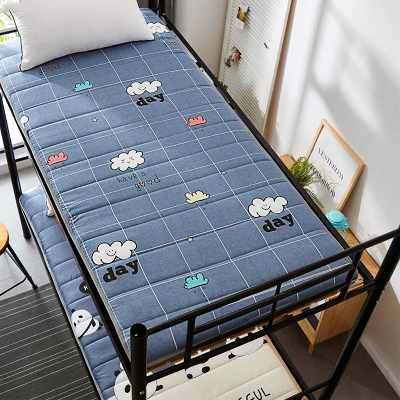 Breathable Japanese Traditional futon Mattress,Ultra Soft Portable Non-Slip Floor mat Sleeping pad Student Dormitory-C Full 120x200cm(47x79inch)