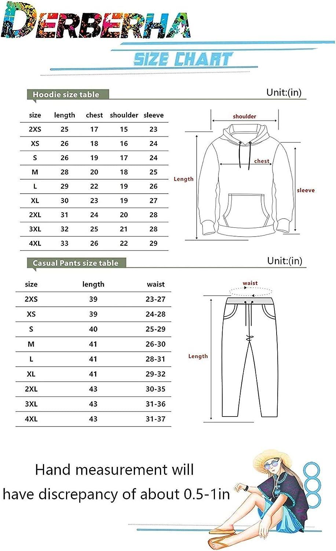 WAWNI Juice Wrld Fashion Hoodies and Sweatpants Two Piece Set Suit for Men Women Outwear