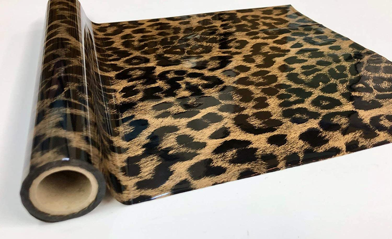 Metallic Foil - Cheetah Gold - Decorative Trasfer Roll 12