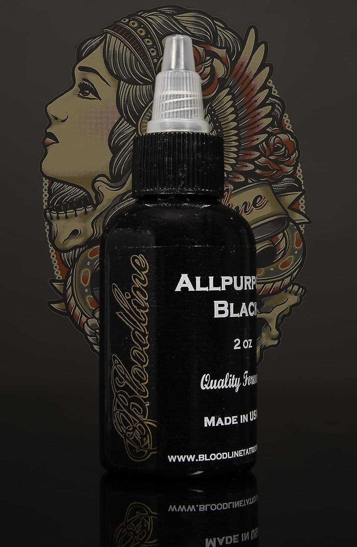 Bloodline Tattoo Ink All Purpose San Diego Mall Black oz Popular brand 1 ml - 30