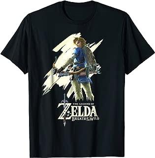 Nintendo Zelda Breath of the Wild Link Stare Graphic T-Shirt