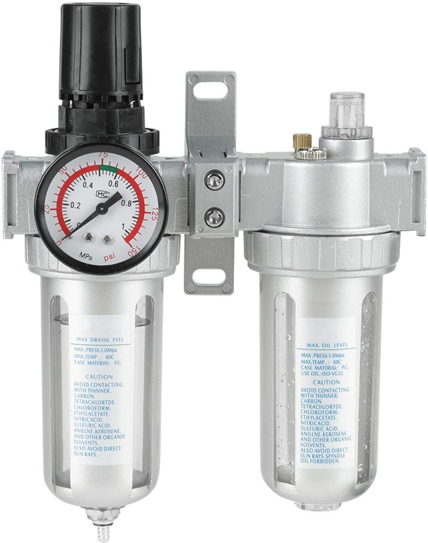 LANTRO JS - 1 2 inch Pr Ranking TOP12 Compressed Air Regulator Filter Very popular Dual