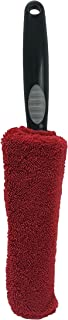 VIKING 862601 Premium Metal Free Wheel and Rim Brush – 2.5 Inches x 14.3 Inches, Red and Black
