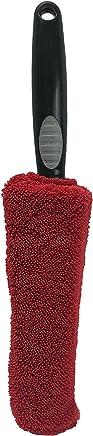 Viking Red & Black Premium Metal-Free Wheel & Rim Brush
