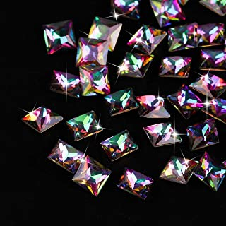 10 Pc Flame Retro Water Drop Diamond Nail Art Gems Great Popular Nails Crystal Set Paint Pens Brush Stamping Plate Tool Transfer Foil Heart Christmas Decorations Gel Kids Tips, Type-02