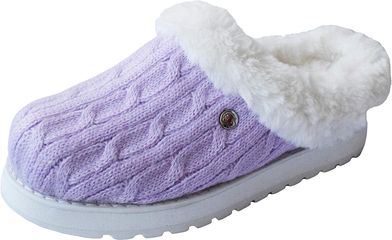 BOBS from Skechers Women's Keepsakes Ice Angel Slipper, Lavender, 7 W US