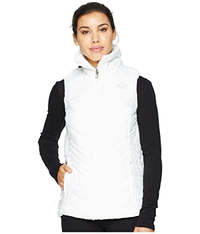 The North Face Mossbud Insulated Reversible Vest (TNF White) Women